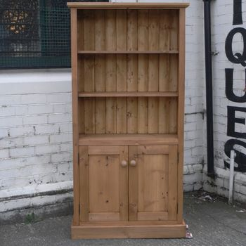 Photo of Bookcase With Cupboard